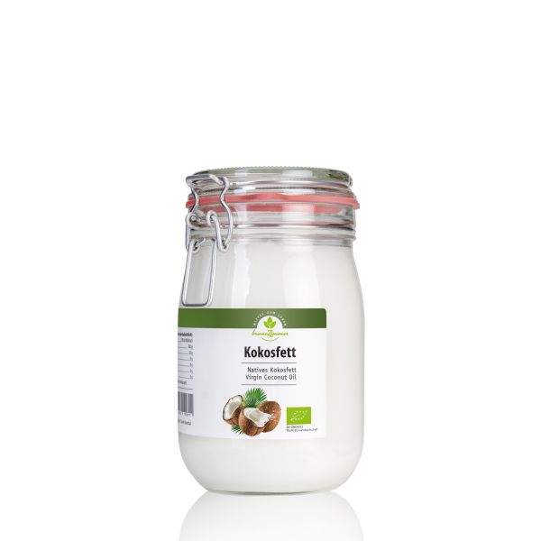 Kokosfett Virgin Coconut Oil (VCO), BIO