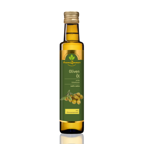 Olivenöl extra nativ mit Zitronenextrakt