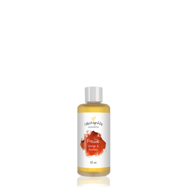 Massageöl Freude mit Karneol 140ml BIO