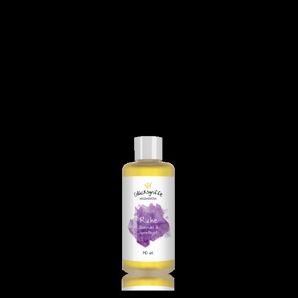 Massageöl Ruhe mit Amethyst 140ml BIO