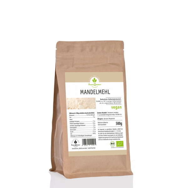 Mandelmehl BIO 500 g