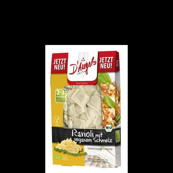 BIO Ravioli mit veganem Schmelz