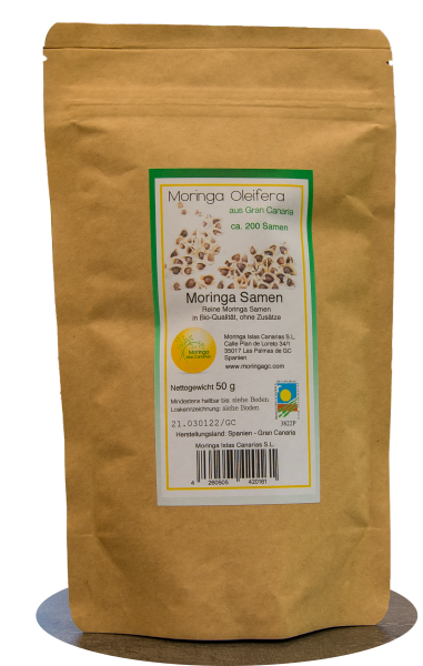 Moringa Oleifera Samen 25 Gramm