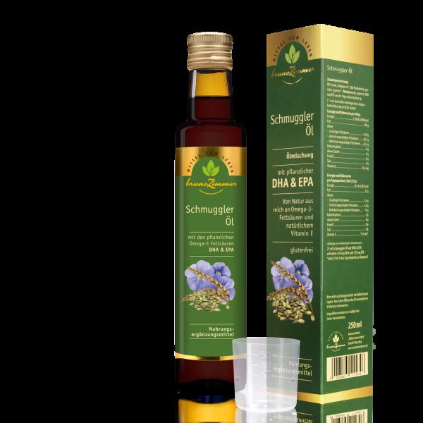 Schmuggleröl mit Omega 3 (DHA & EPA)