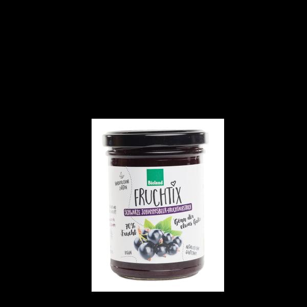 Fruchtix schwarze Johannisbeere-Fruchtaufstrich BIO 230g